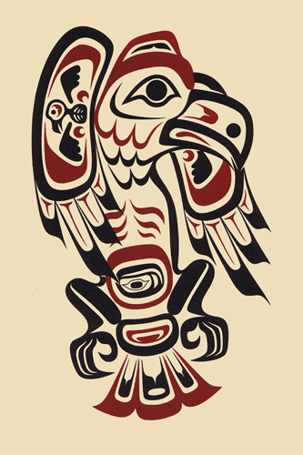 Eaglei on Tlingit Haida Animal Symbols